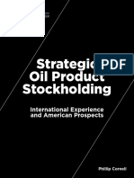 Strategic Oil Product Stockholding