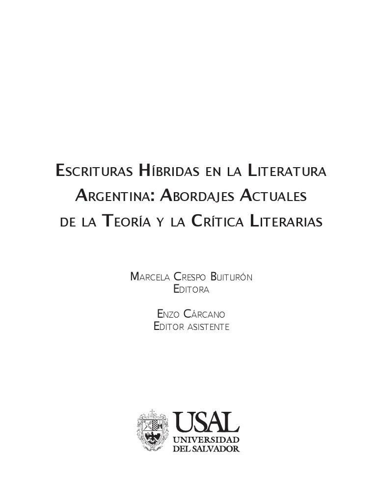Escrituras híbridas....pdf
