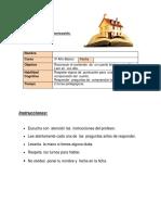 Ficha 2 Lenguaje Unidad 1 3ro Clase 3