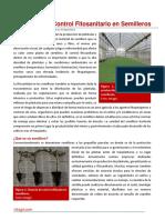70. Control Fitosanitario en Semilleros