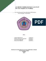 Perawatan Mesin Fabrikasi Pada Las Gtaw Tig