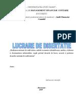 Lucrare Disertatie 2009 - Audit Intern