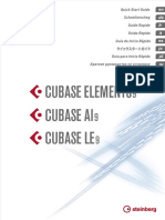 Cubase LE AI Elements 9 Quick Start Guide Espanol