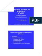 M&S 06 Comparing Systems via Sim