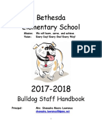 bethesda elementary faculty handbook 2017-2018 -lockard comments