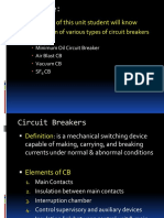 Unit 2 - Circuit Breaker - II