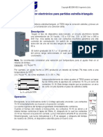 DATA SHEET Temporizador Electrónico Para Partidas Estrella-triangulo NDU