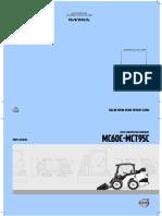 Bob Cat - Mc60c , Mct95c Volvo