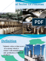 Industrial Sector of Pakistan