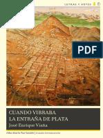 Cuando Vibraba La Entraña de Plata - Jose Enrique Viana