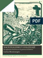 Nacionalismo y Coloniaje - Carlos Montenegro