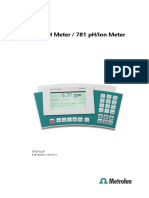 Manual 780 781 PH Ion Meter