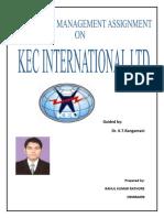 Kec Internatinal Ltd.
