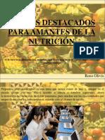 Rosa Olivis - Cursos Destacados Para Amantes de La Nutrición
