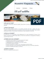 Internet Rural Por Satélite - Agencia Boliviana Espacial
