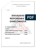 Sexualidad Responsable y Ginecomastia