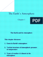 Chapter 01 the Earth's Atmosphere