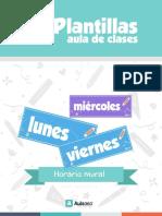 PLANTILLA Sala de Clases HorarioMural2017