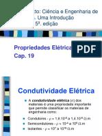 Aula 1.0 - Propriedades Elétricas - Condutividade