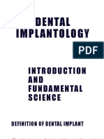 1 Dental Implantology