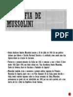 Biografia de Mussolini