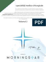 volumul 2 compendiu specialitati medico-chirurgicale