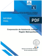 CGR. 2017. Informe Final 761-17 CAJRM