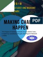 Making Change Happen - Lewisham Refugee and Migrant Network - 2018