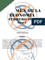 Ibrahim Velutini Sosa - Resumen de La Economía, Febrero 2018, Parte I