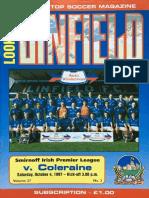 Vol 27 - Linfield v Coleraine 04.10.97
