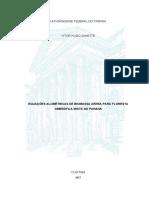 Equações alométricas de biomassa aérea para Floresta Ombrófila Mista do Paraná