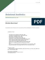Relational Aesthetics - Nicolas Bourriaud.pdf
