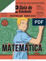 #Revista Guia do Estudante Vestibular+Enem - Matemática (2018)