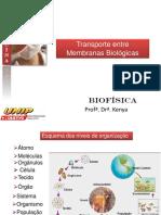 Aula 2_Transporte Entre Membranas Biológicas 2017