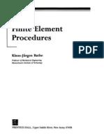 Finite Element Procedures Pdf