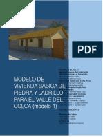 Memoria Descriptiva Modelo 03 Variacion a Copia