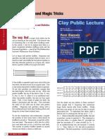 Mathematics & Magic Tricks_Perci Diaconis.pdf