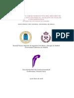 Desarrollo y Caracterizacíon del Método de Dinamolisis Capilar para el Análisis de Suelos Contaminados