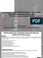 Renforcement Carbone