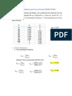 Cálculo de La Permeabilidad a Partir de Una Prueba STEADY