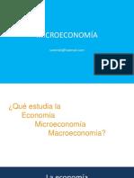 CLASE 1 Microeconomia