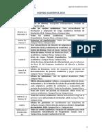 Calendario Academico 2018 Vf