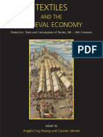 Angela Ling Huang, Carsten Jahnke-Textiles and the Medieval Economy_ Production, Trade, And Consumption of Textiles, 8th-16th Centuries-Oxbow Books (2015)