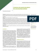 Concordancias Entre Los Trastornos Del Espectro Del Autismo y El Trastorno Por Déficit de Atención e hiperactividad