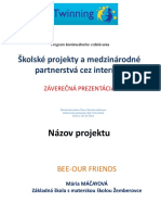 Bee-our friends - Marika Máčayová