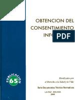 65 Obtención Del Consentimiento Informado