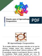 Diseño Para El Aprendizaje Cooperativo