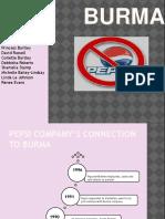 Pepsi in Burma- Final