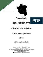 Industridata CDMX Zona Metropolitana