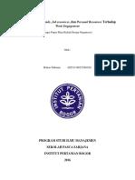 Pengaruh Job Demands, Job resources, dan Personal Resources Terhadap Work Engagement.docx